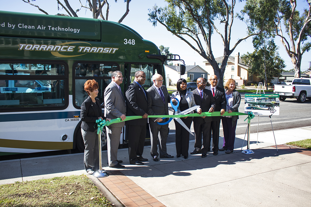 Line 4X Ribbon Cutting